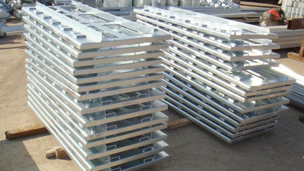 What is the change in strength and performance of steel after hot-dip galvanizing?