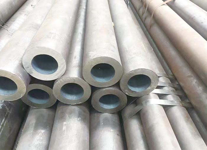 Straight seam welded steel pipe