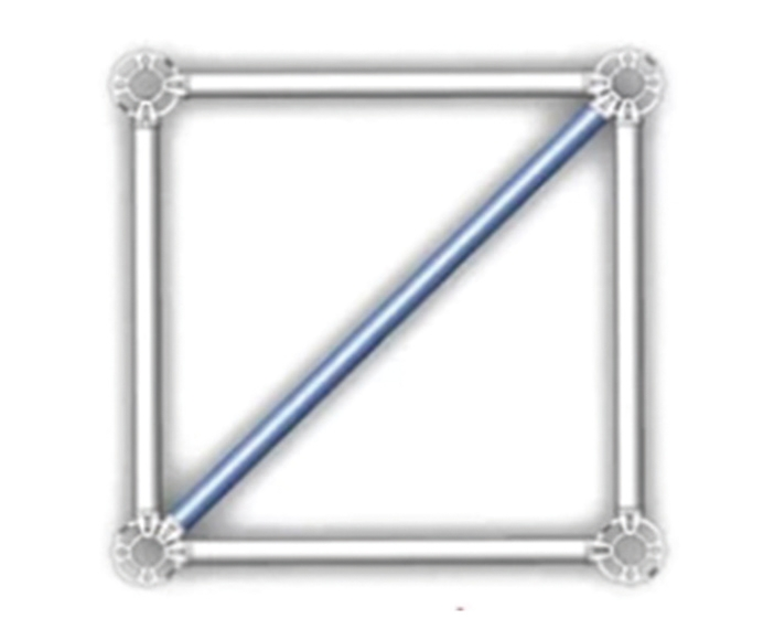Horizontal slant