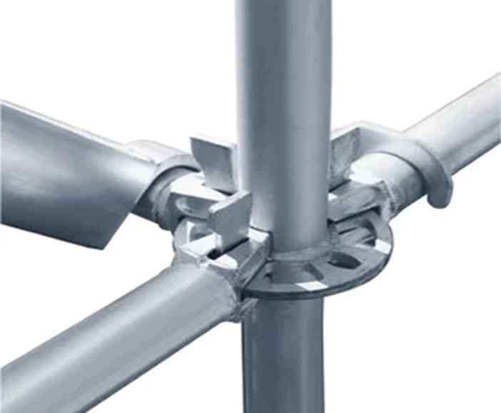 Disc-type scaffolding support system